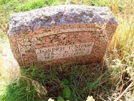 SHAW, JOSEPH T - Independence County, Arkansas | JOSEPH T SHAW - Arkansas Gravestone Photos