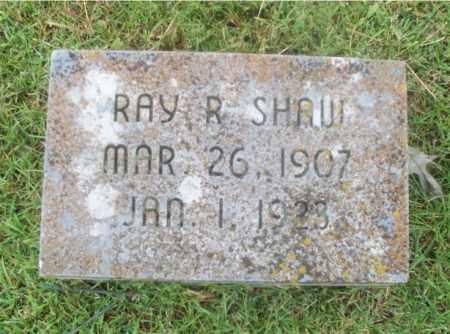 SHAW, RAY R - Independence County, Arkansas   RAY R SHAW - Arkansas Gravestone Photos