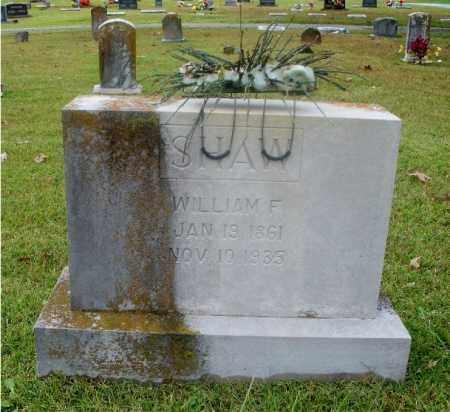 SHAW, WILLIAM F - Independence County, Arkansas   WILLIAM F SHAW - Arkansas Gravestone Photos