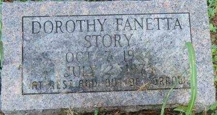 STORY, DOROTHY FANETTA - Independence County, Arkansas | DOROTHY FANETTA STORY - Arkansas Gravestone Photos