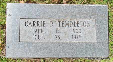 TEMPLETON, CARRIE R - Independence County, Arkansas   CARRIE R TEMPLETON - Arkansas Gravestone Photos