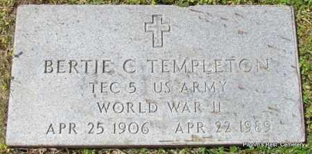 TEMPLETON (VETERAN WWII), BERTIE C - Independence County, Arkansas | BERTIE C TEMPLETON (VETERAN WWII) - Arkansas Gravestone Photos