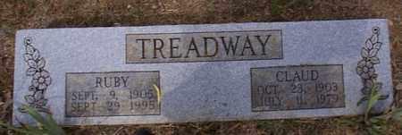 TREADWAY, CLAUD - Independence County, Arkansas | CLAUD TREADWAY - Arkansas Gravestone Photos