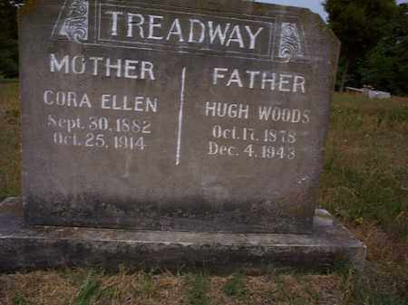 TREADWAY, HUGH WOODS - Independence County, Arkansas | HUGH WOODS TREADWAY - Arkansas Gravestone Photos