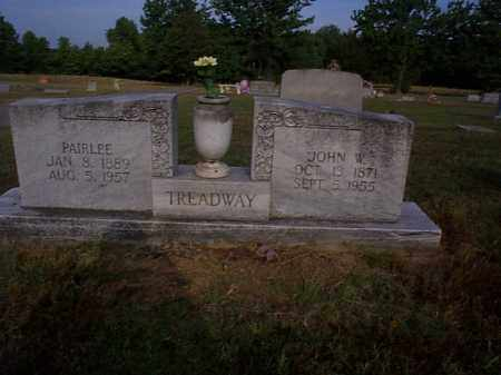 TREADWAY, JOHN W. - Independence County, Arkansas | JOHN W. TREADWAY - Arkansas Gravestone Photos
