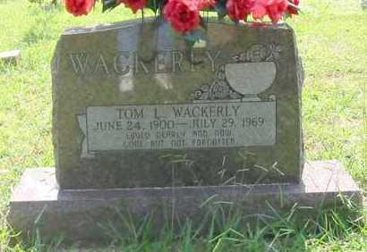 WACKERLY, TOM L - Independence County, Arkansas | TOM L WACKERLY - Arkansas Gravestone Photos