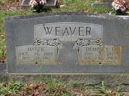 WEAVER, DEMPSEY E. - Independence County, Arkansas | DEMPSEY E. WEAVER - Arkansas Gravestone Photos