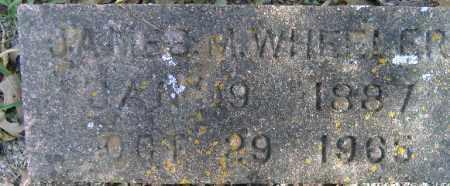 WHEELER, JAMES M - Independence County, Arkansas | JAMES M WHEELER - Arkansas Gravestone Photos