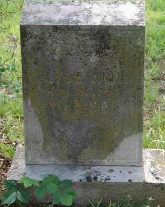 WOOD, CLYDE - Independence County, Arkansas   CLYDE WOOD - Arkansas Gravestone Photos