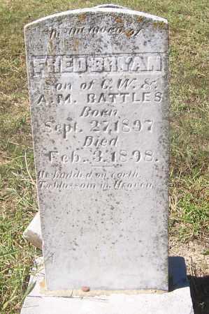 BATTLES, FRED BRYAN - Izard County, Arkansas | FRED BRYAN BATTLES - Arkansas Gravestone Photos