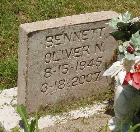 BENNETT, OLIVER N - Izard County, Arkansas | OLIVER N BENNETT - Arkansas Gravestone Photos