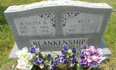 "COPELAND BLANKENSHIP, AUGUSTA D. ""GUS"" - Izard County, Arkansas   AUGUSTA D. ""GUS"" COPELAND BLANKENSHIP - Arkansas Gravestone Photos"
