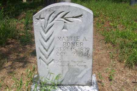 BOMER, MATTIE A. - Izard County, Arkansas | MATTIE A. BOMER - Arkansas Gravestone Photos