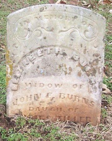 BURNS, ELIZABETH - Izard County, Arkansas | ELIZABETH BURNS - Arkansas Gravestone Photos