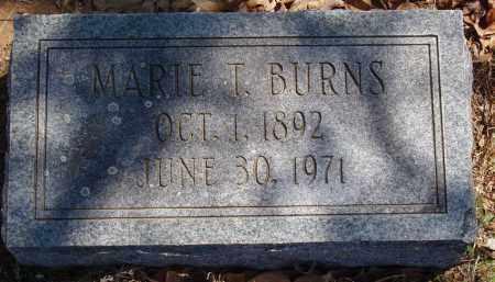 BURNS, MARIE T - Izard County, Arkansas | MARIE T BURNS - Arkansas Gravestone Photos