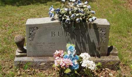 BURNS, ROSIE JANE - Izard County, Arkansas | ROSIE JANE BURNS - Arkansas Gravestone Photos