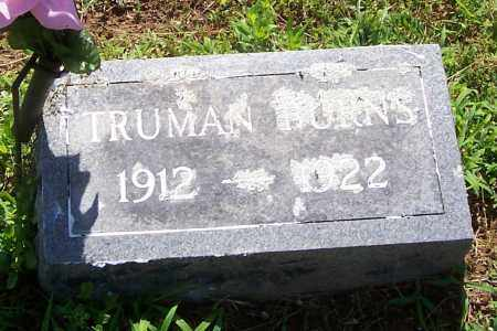 BURNS, TRUMAN - Izard County, Arkansas | TRUMAN BURNS - Arkansas Gravestone Photos