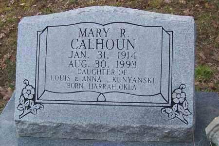 CALHOUN, MARY R. - Izard County, Arkansas | MARY R. CALHOUN - Arkansas Gravestone Photos