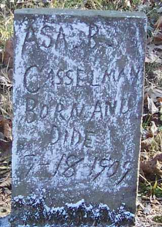 CASSELMAN, ASA B. - Izard County, Arkansas | ASA B. CASSELMAN - Arkansas Gravestone Photos