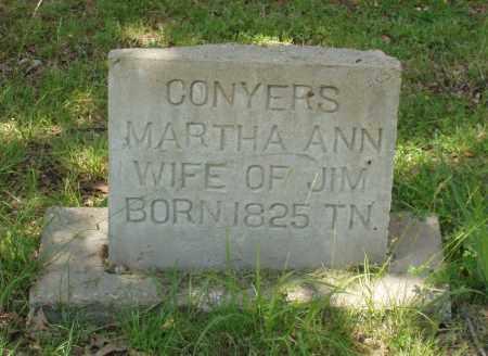 JOHNSON CONYERS, MARTHA ANN - Izard County, Arkansas | MARTHA ANN JOHNSON CONYERS - Arkansas Gravestone Photos