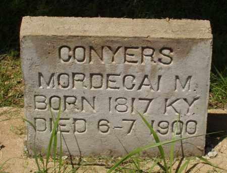 CONYERS, MORDECAI M - Izard County, Arkansas   MORDECAI M CONYERS - Arkansas Gravestone Photos