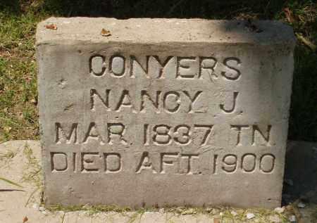 CONYERS, NANCY - Izard County, Arkansas   NANCY CONYERS - Arkansas Gravestone Photos