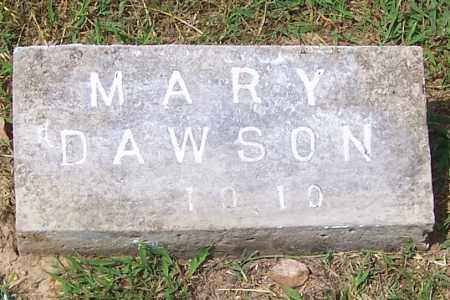 DAWSON, MARY - Izard County, Arkansas | MARY DAWSON - Arkansas Gravestone Photos