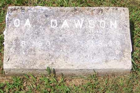 DAWSON, OATHER ANDERSON - Izard County, Arkansas | OATHER ANDERSON DAWSON - Arkansas Gravestone Photos