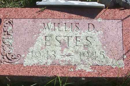 ESTES, WILLIS D. - Izard County, Arkansas | WILLIS D. ESTES - Arkansas Gravestone Photos