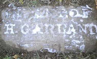 GARLAND, INFANT - Izard County, Arkansas | INFANT GARLAND - Arkansas Gravestone Photos