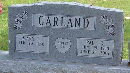 GARLAND, PAUL G. - Izard County, Arkansas   PAUL G. GARLAND - Arkansas Gravestone Photos