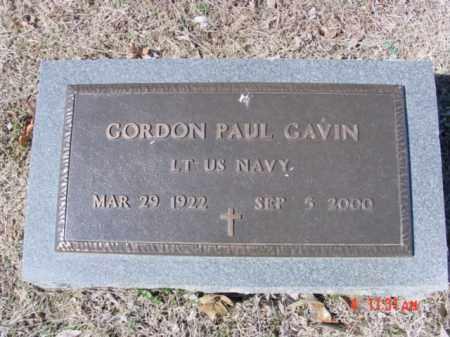 GAVIN (VETERAN), GORDON PAUL - Izard County, Arkansas | GORDON PAUL GAVIN (VETERAN) - Arkansas Gravestone Photos