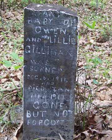 GILLIHAN, INFANT - Izard County, Arkansas | INFANT GILLIHAN - Arkansas Gravestone Photos