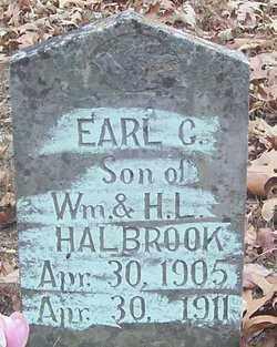 HALBROOK, EARL C. - Izard County, Arkansas | EARL C. HALBROOK - Arkansas Gravestone Photos