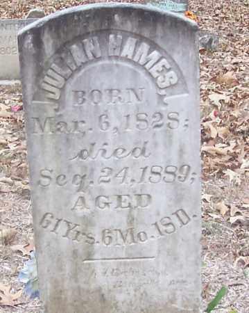 HAMES, JULIAN - Izard County, Arkansas | JULIAN HAMES - Arkansas Gravestone Photos