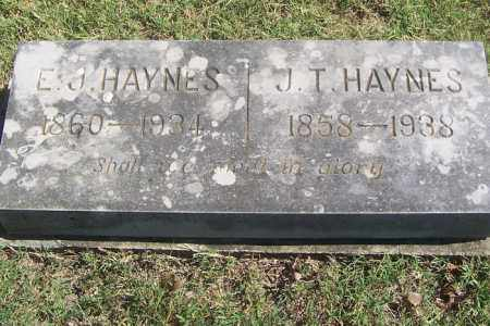 HAYNES, JOHN T - Izard County, Arkansas | JOHN T HAYNES - Arkansas Gravestone Photos