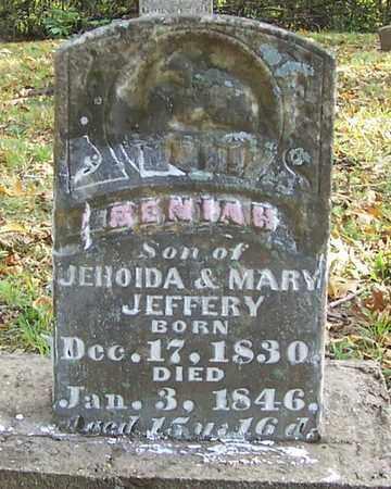 JEFFERY, BENIAH - Izard County, Arkansas | BENIAH JEFFERY - Arkansas Gravestone Photos
