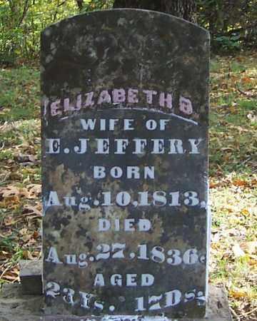 CARTER JEFFERY, ELIZABETH B. - Izard County, Arkansas | ELIZABETH B. CARTER JEFFERY - Arkansas Gravestone Photos