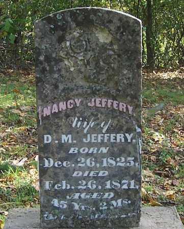 JEFFERY, NANCY - Izard County, Arkansas   NANCY JEFFERY - Arkansas Gravestone Photos