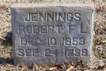 JENNINGS, ROBERT F. L. - Izard County, Arkansas | ROBERT F. L. JENNINGS - Arkansas Gravestone Photos