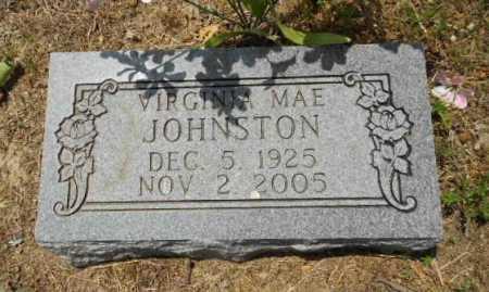 JOHNSTON, VIRGINIA MAE - Izard County, Arkansas   VIRGINIA MAE JOHNSTON - Arkansas Gravestone Photos