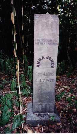 BUTLER JONES, ANNA - Izard County, Arkansas   ANNA BUTLER JONES - Arkansas Gravestone Photos