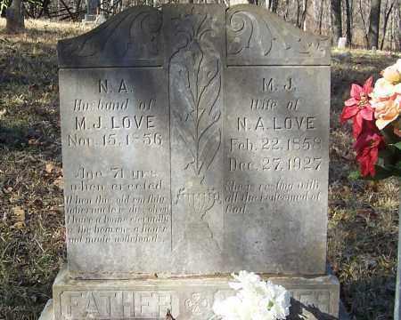 LOVE, NEWTON A. - Izard County, Arkansas | NEWTON A. LOVE - Arkansas Gravestone Photos