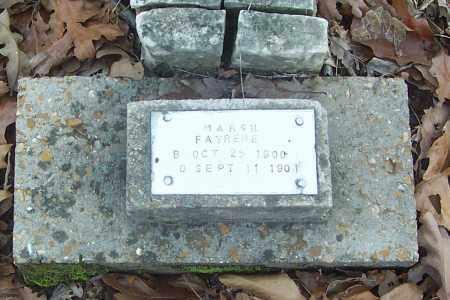 MARSH, FAYRENE - Izard County, Arkansas | FAYRENE MARSH - Arkansas Gravestone Photos