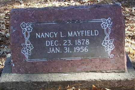MAYFIELD, NANCY L. - Izard County, Arkansas   NANCY L. MAYFIELD - Arkansas Gravestone Photos