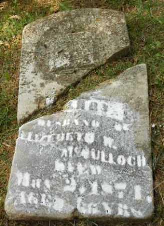 MCCULLOCH, HENRY - Izard County, Arkansas | HENRY MCCULLOCH - Arkansas Gravestone Photos