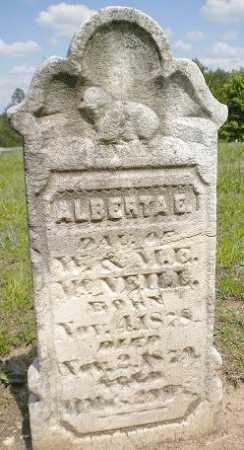 MC NEILL, ALBERTA E. - Izard County, Arkansas | ALBERTA E. MC NEILL - Arkansas Gravestone Photos