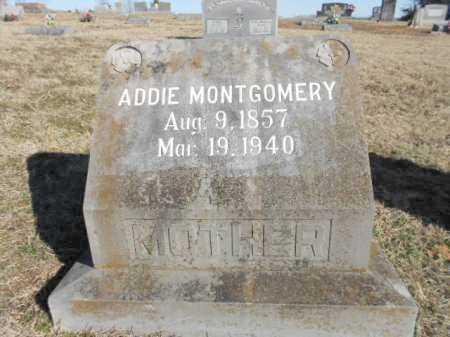 "MONTGOMERY, ADOLAIDE ""ADDIE"" - Izard County, Arkansas | ADOLAIDE ""ADDIE"" MONTGOMERY - Arkansas Gravestone Photos"