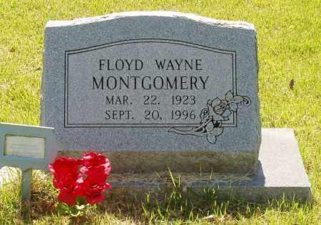 MONTGOMERY, FLOYD WAYNE - Izard County, Arkansas   FLOYD WAYNE MONTGOMERY - Arkansas Gravestone Photos
