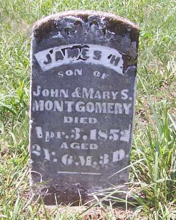 MONTGOMERY, JAMES H. - Izard County, Arkansas | JAMES H. MONTGOMERY - Arkansas Gravestone Photos